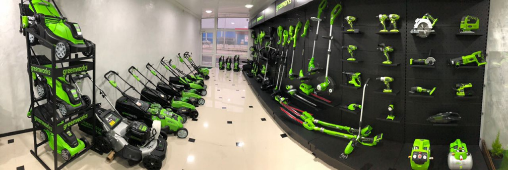 Greenworks shop Krasnodar