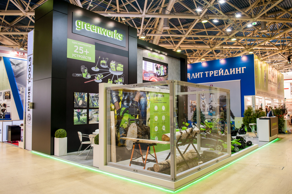 Выставка MITEX 2017 Greenworks