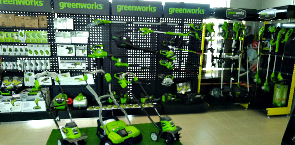 greenworks shop