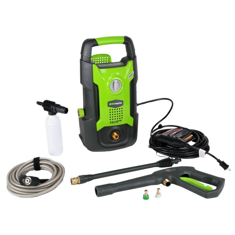 Greenworks Russia wash tools